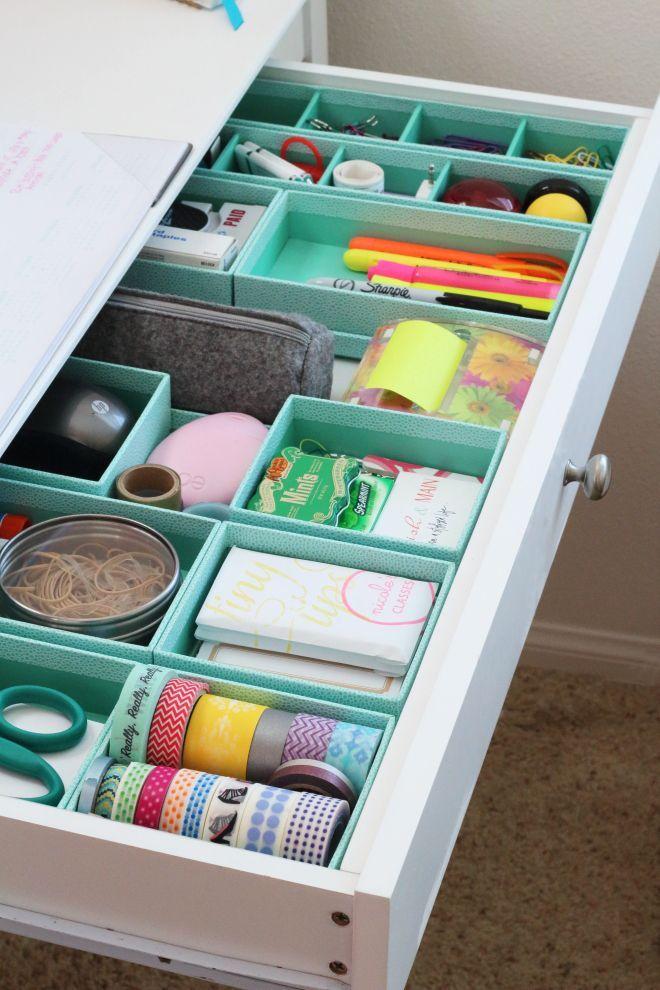 5 organizadores de cajones low cost orden y limpieza en casa - Limpieza en casa ...